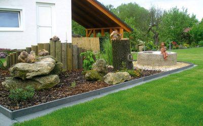 Uporaba klasičnih plastičnih robnikov CORTINAPLAST so najbolj praktični pri izgradnji gred na vašem zelenjavnem ali zeliščnem vrtu in tudi v rastlinjaku ter pri razmejevanju poti od zelenic in drugih površin.